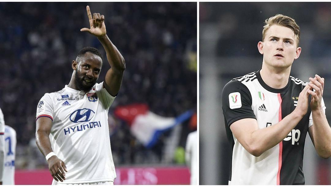 Moussa Dembélé, 23 anni e Matthijs de Ligt, 20.