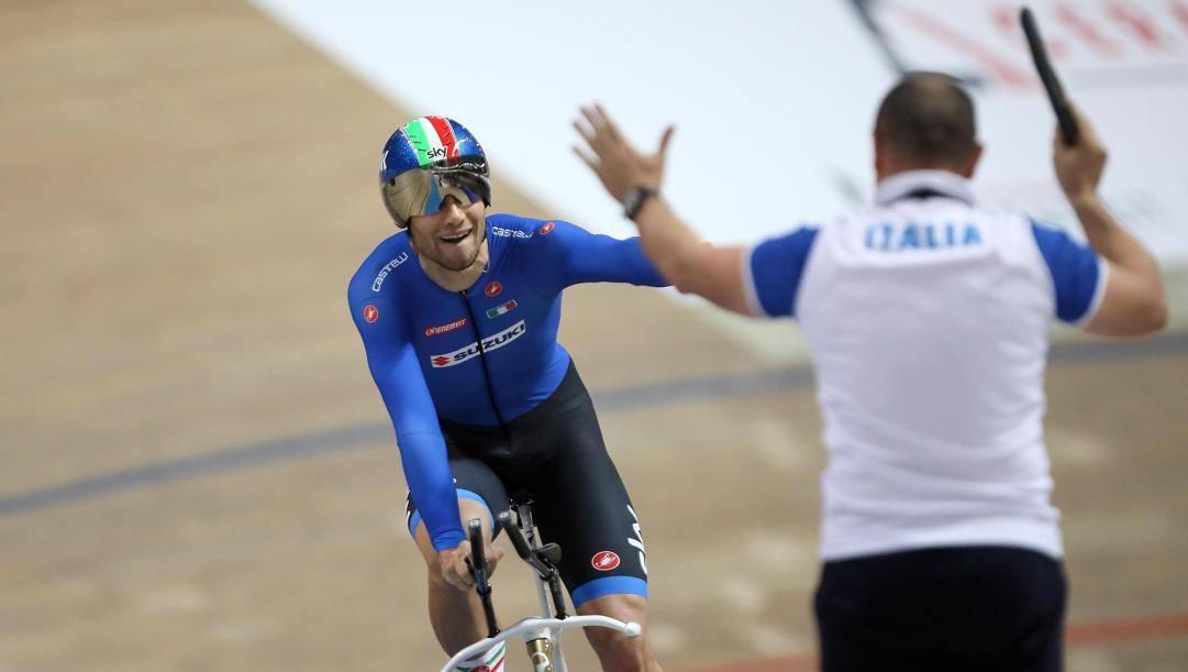Ciclismo: Francesco Ceci al Campionato del Mondo su Pista di Berlino