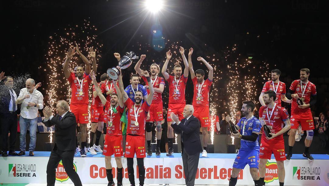 Civitanova alza la sesta Coppa Italia