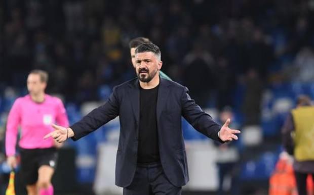 Rino Gattuso, 42 anni, allena il Napoli dall'11 dicembre 2019. Getty