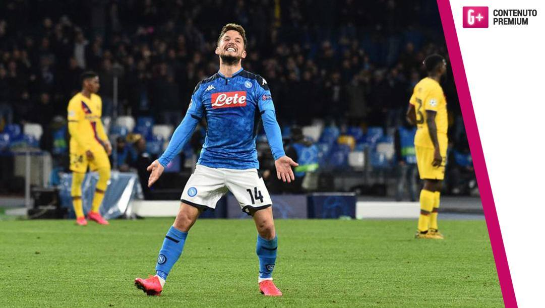 Dries Mertens, 32 anni, attaccante del Napoli. Getty