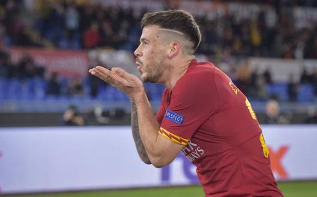Carles Perez (22 anni), rivelazione della Roma. LAPRESSE