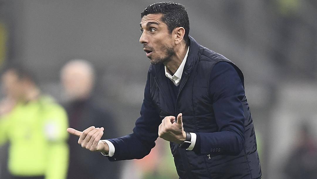 Il tecnico del Torino Moreno Longo, 44 anni. LaPresse