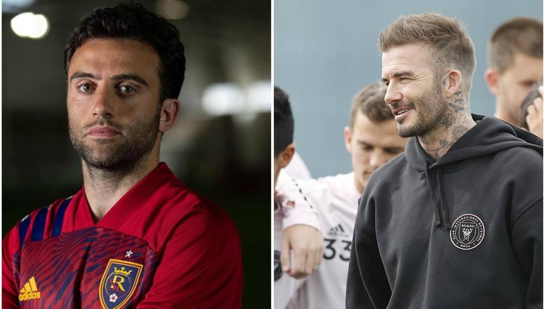 Giuseppe Rossi, 33 anni e David Beckham, 44.