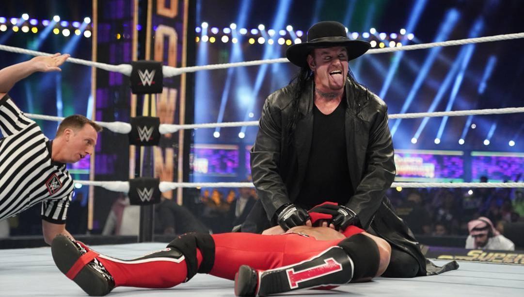 Undertaker in azione