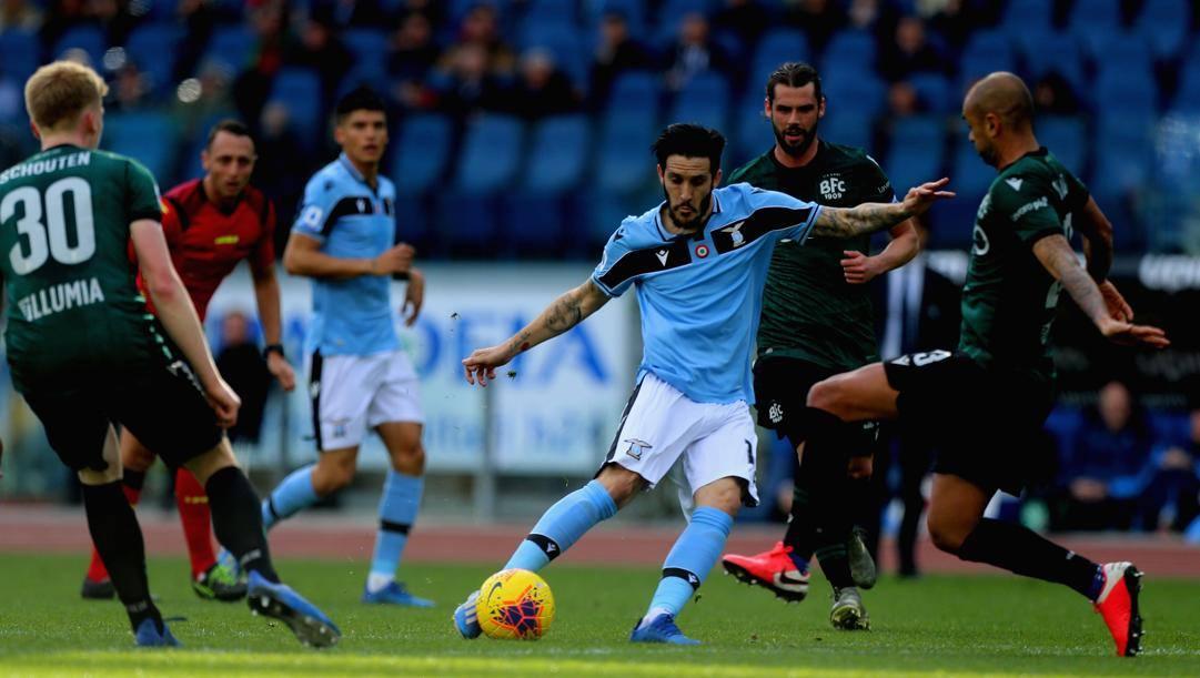 Il gol di Luis Alberto. Getty
