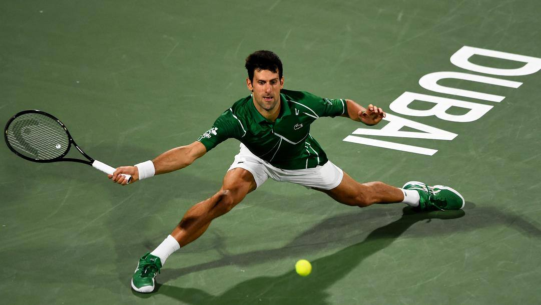 Nole Djokovic, 32 anni. Getty Images