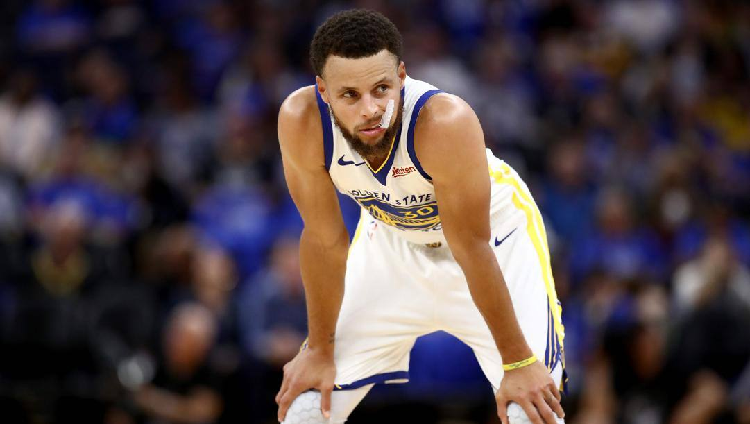 Stephen Curry, 31 anni. Afp