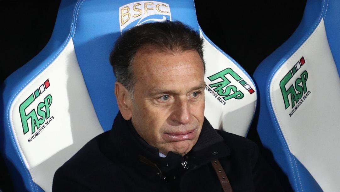 Il presidente del Brescia Cellino. Ansa