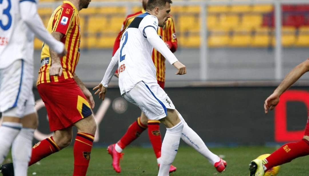 Josip Ilicic segna il gol del 2-3. Lapresse