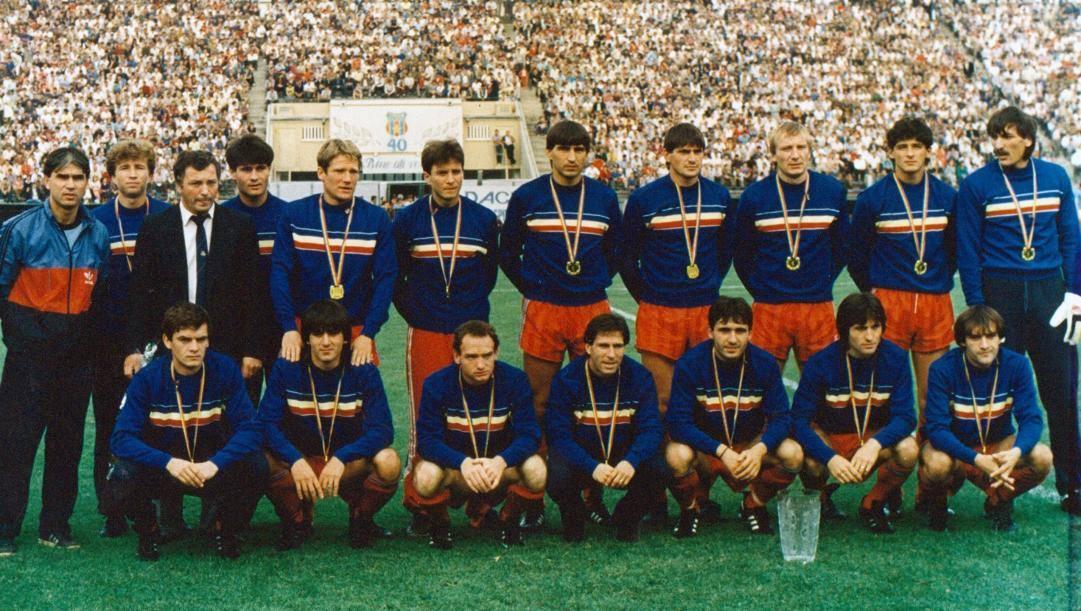 La Steaua Bucarest degli Imbattibili nel 1987