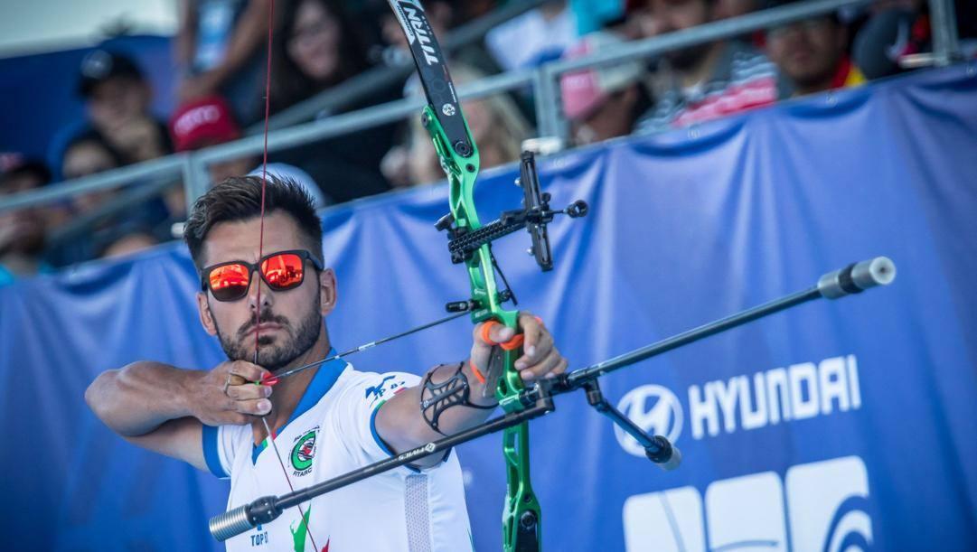 Mauro Nespoli, 32 anni.