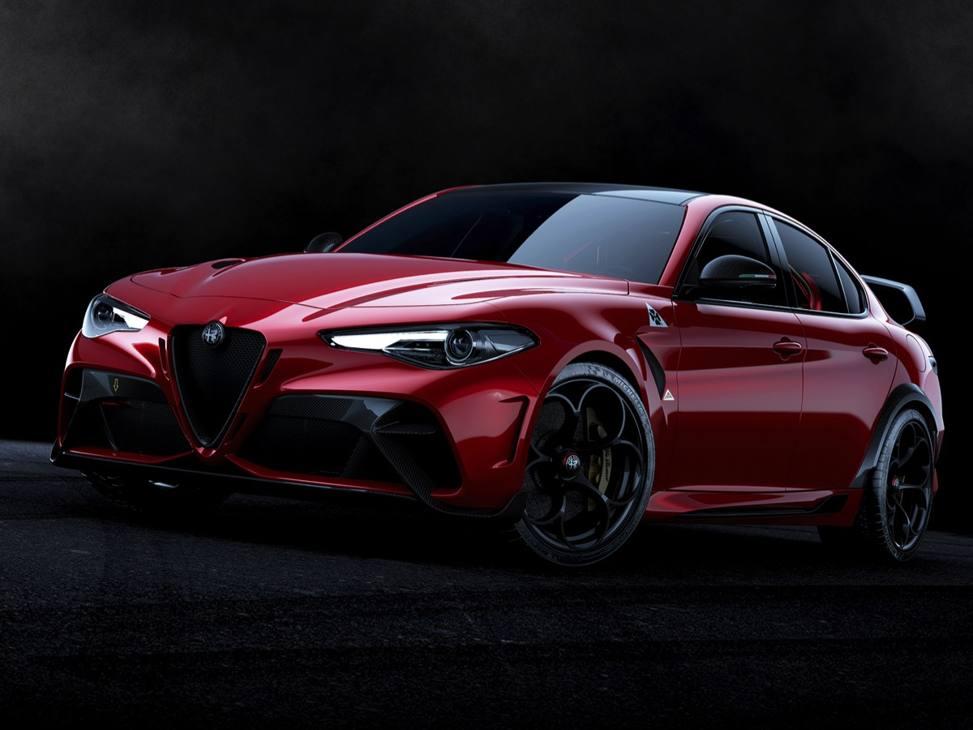 La Alfa Romeo Giulia Gta stradale