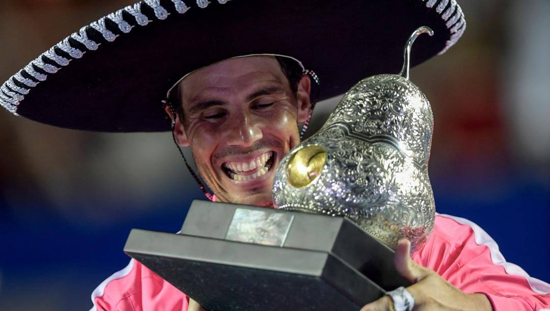 Rafa Nadal, 33 anni. Afp