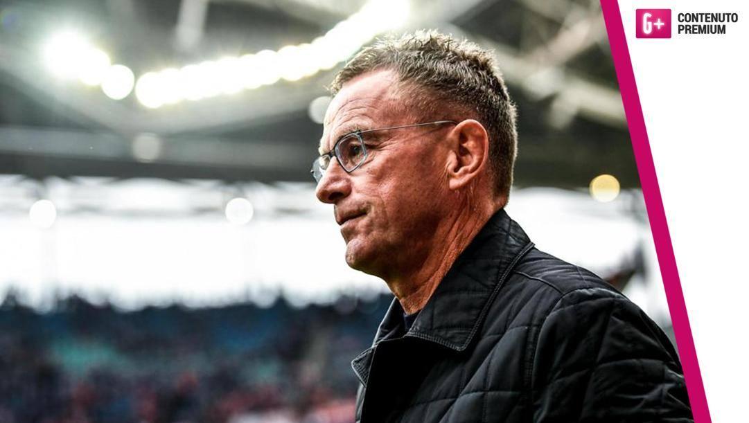 Ralf Rangnick, 61 anni, obiettivo del Milan di Elliott. Epa