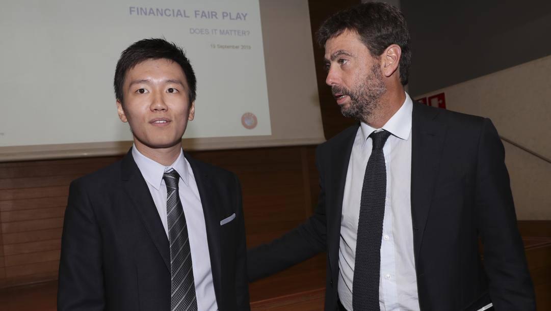 Zhang e Agnelli. Imagoeconomica