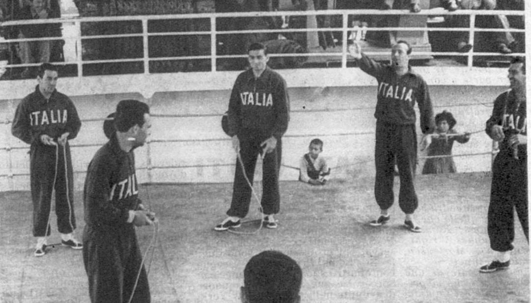 L'Italia del 1950 viaggiò in nave verso il Brasile. Rcs