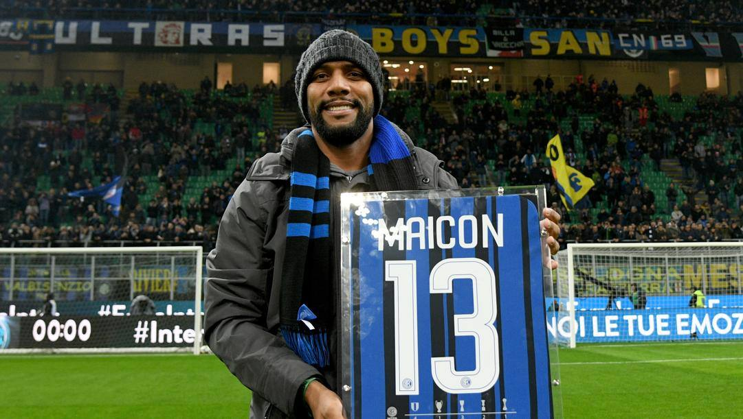 Maicon ha giocato nell'Inter dal 2006 al 2012. Getty