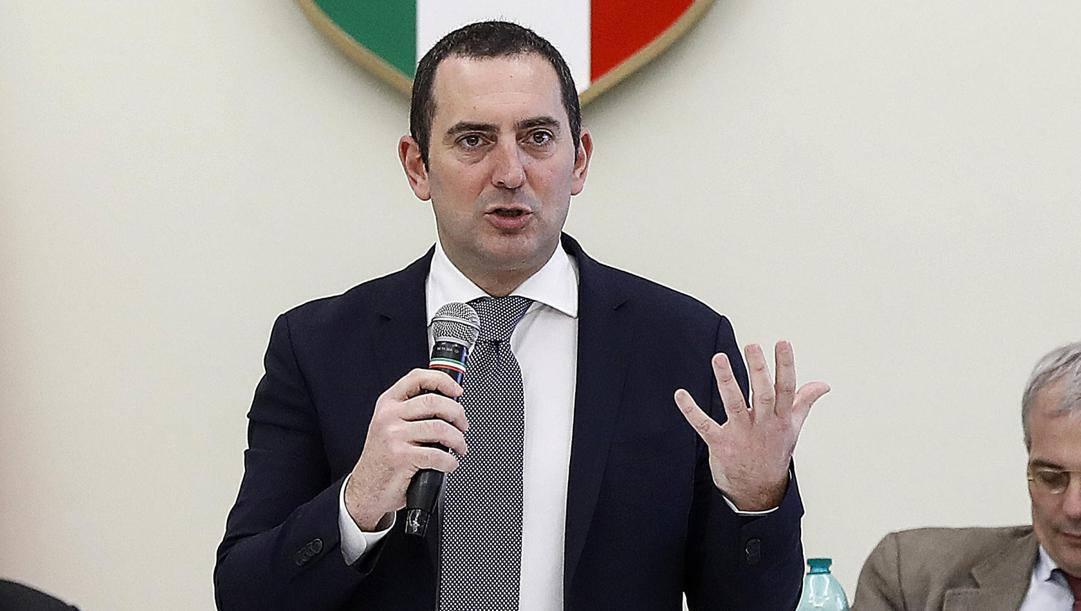 Il ministro dello Sport Vincenzo Spadafora, 45 anni. Ansa