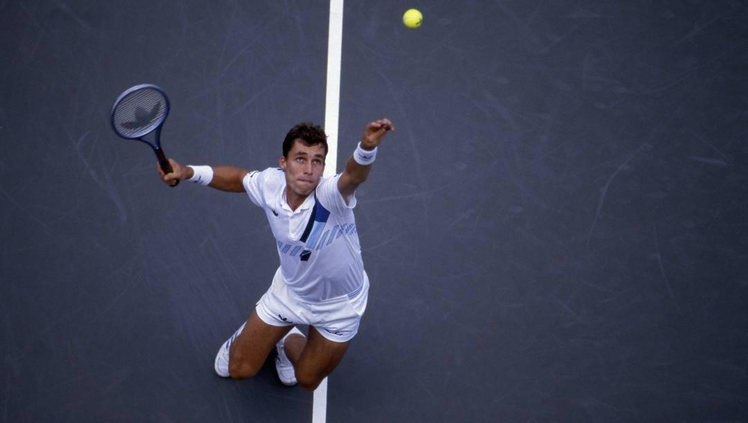 Ivan Lendl, nato a Ostrava il 7 marzo 1960. Afp
