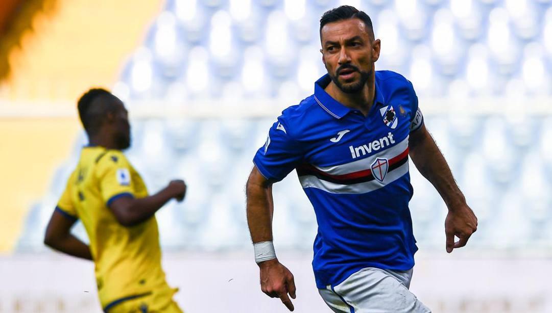 Fabio Quagliarella, 37 anni. (Ansa)