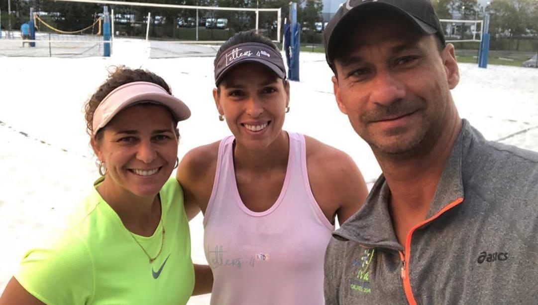 Larissa, Lili e Ricardo