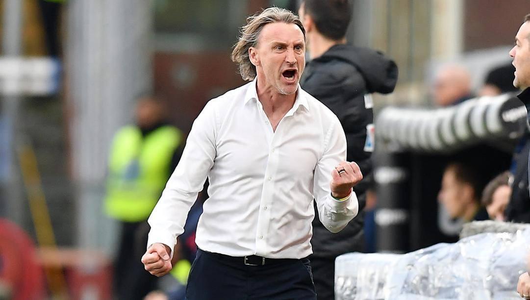L'allenatore del Genoa Davide Nicola, 47 anni. (lapresse)