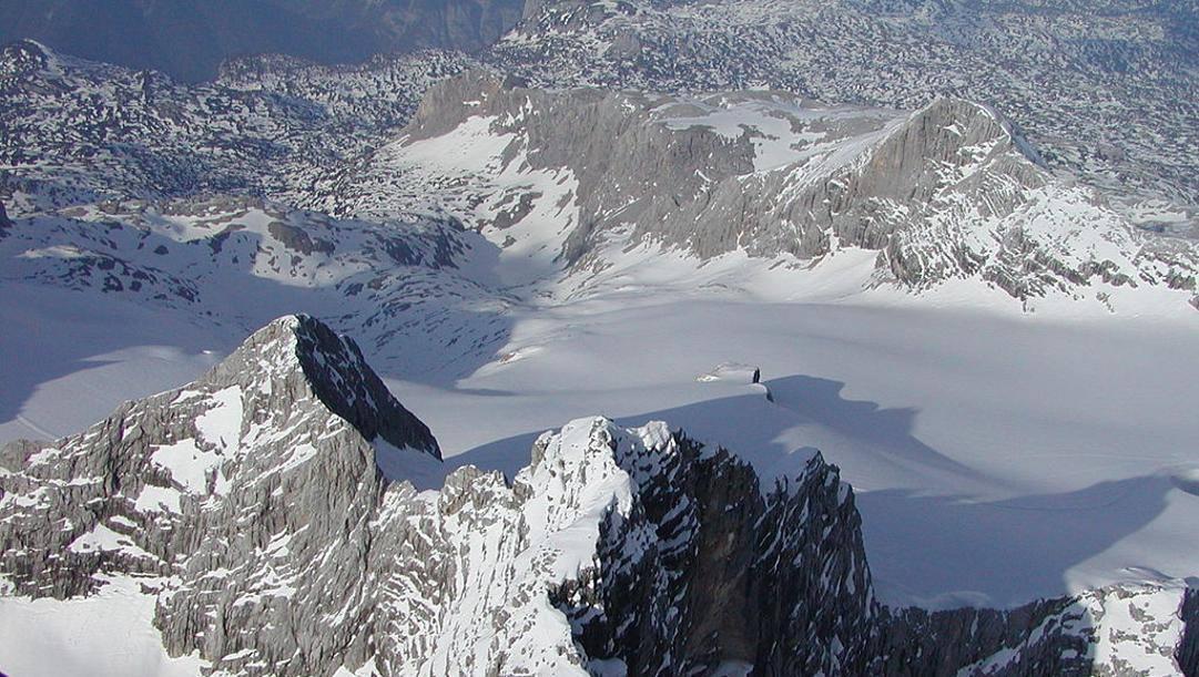 Il Dachstein, complesso montuoso tra Alta Austria e Stiria