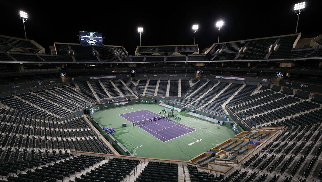 Il campo centrale a Indian Wells