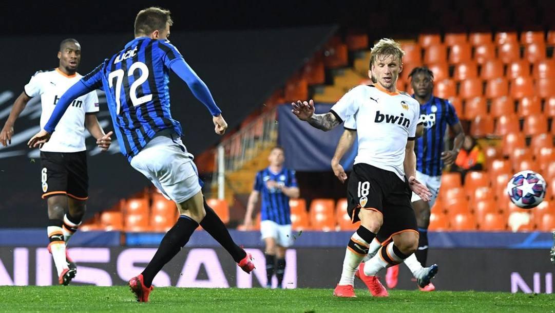 Josip Ilicic, quattro gol a Valencia. Epa