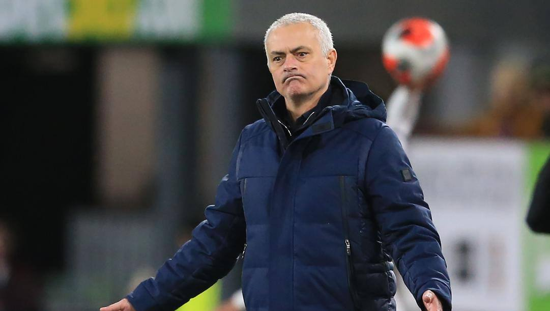 José Maourinho, allenatore del Tottenham. Afp