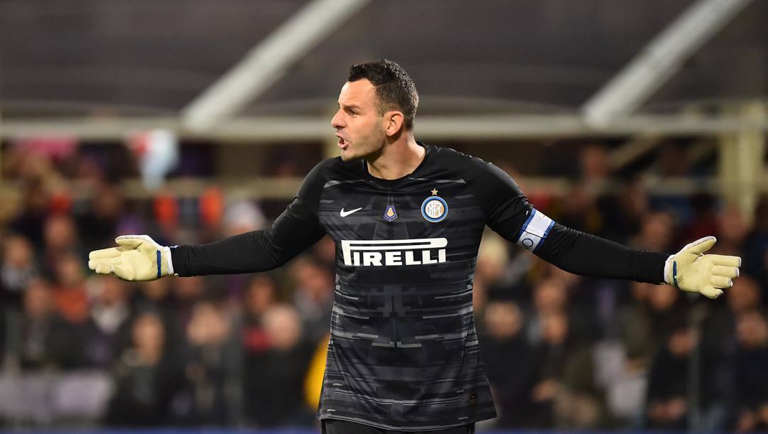 Samir Handanovic, 35 anni, gioca nell'Inter dal 2012 Lapresse