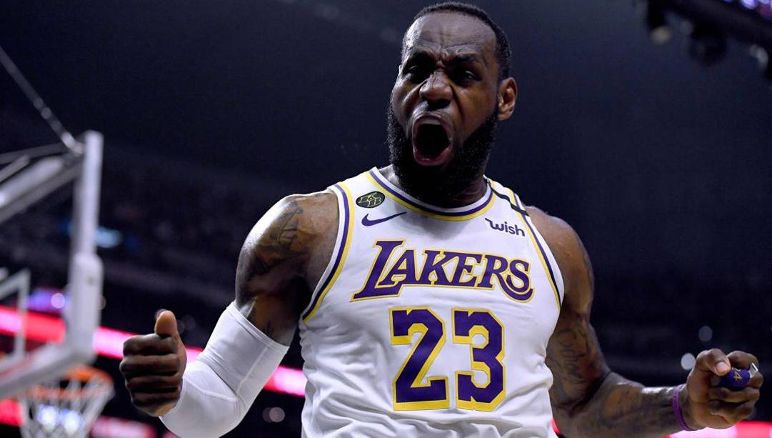 LeBron James, 35 anni. (Getty Images)