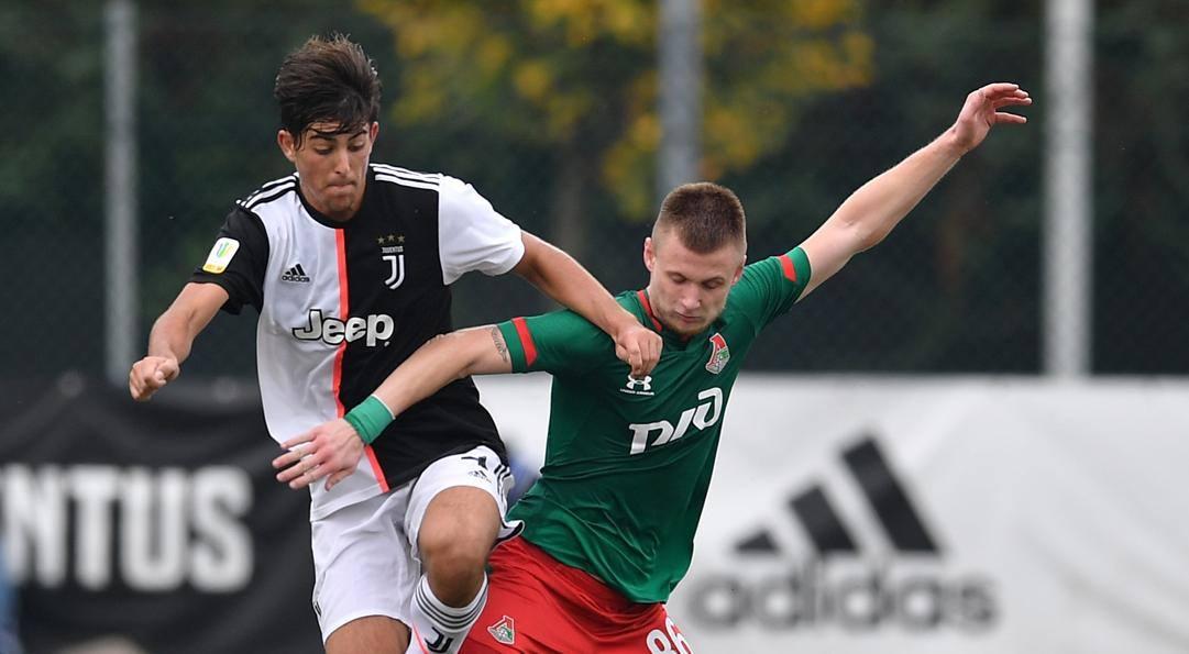 Filippo Ranocchia in Youth League contro la Lokomotiv. Getty