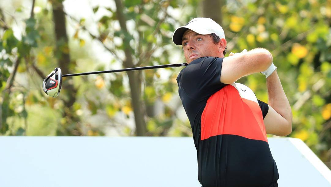 L'irlandese Rory McIlory. Afp