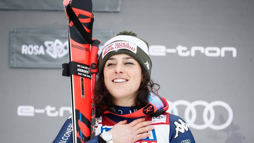 Federica Brignone, 29 anni. Ipp