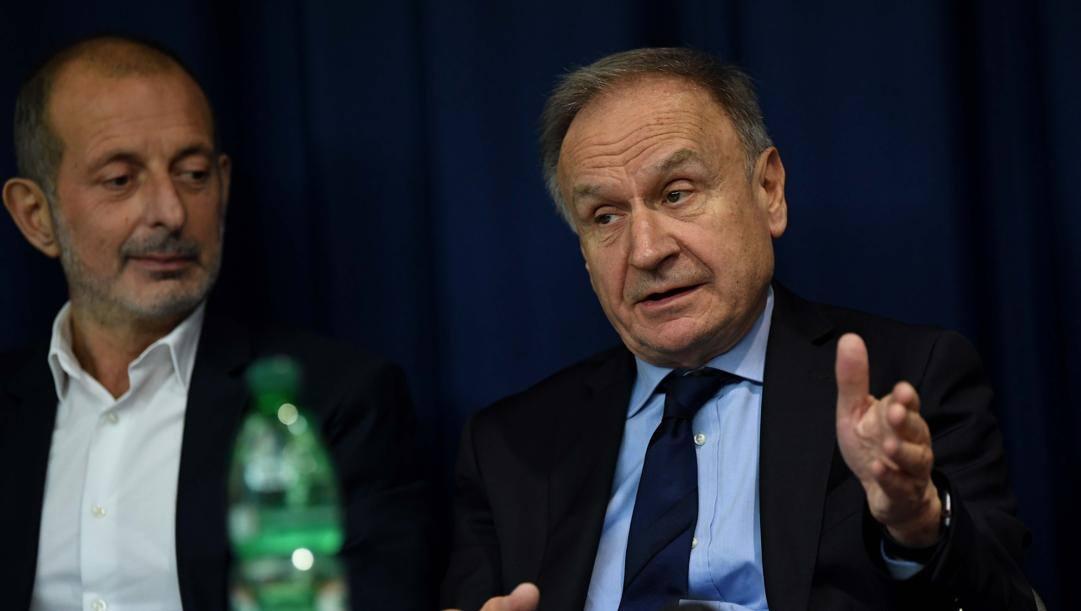 Gianni Petrucci, 74 anni. Ciamillo