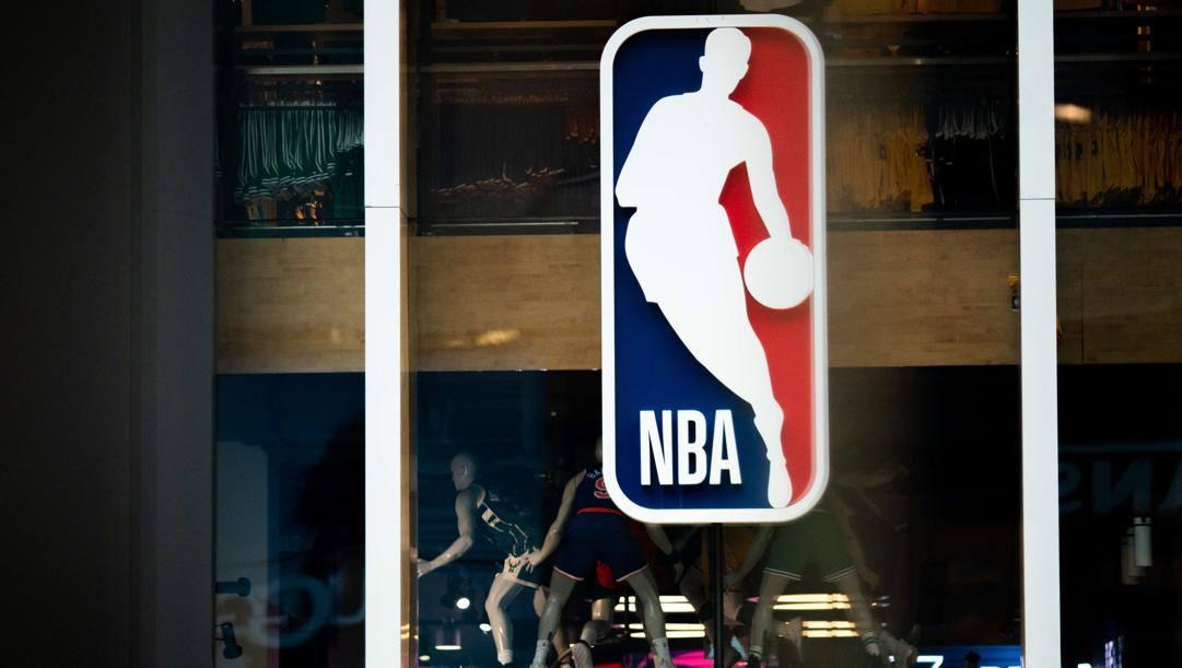 Il logo Nba. Afp