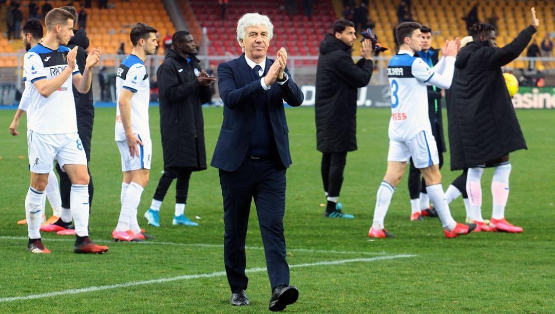 GianPiero Gasperini, 62 anni, allenatore dell'Atalanta. Lapresse