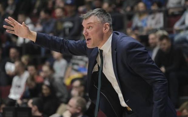Sarunas Jasikevicus, coach dello Zalgiris. Getty