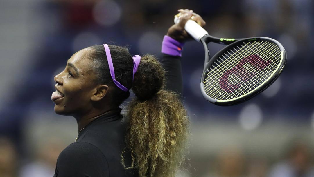 Serena Williams si chiude in casa: