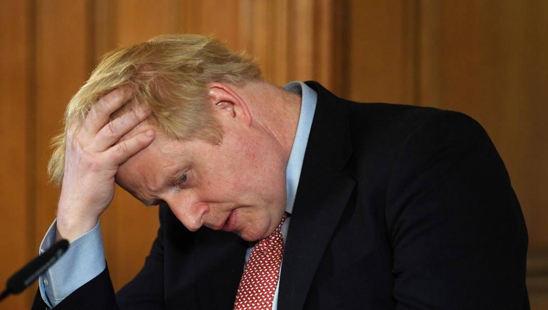 Il Primo Ministro britannico, Boris Johnson. Epa