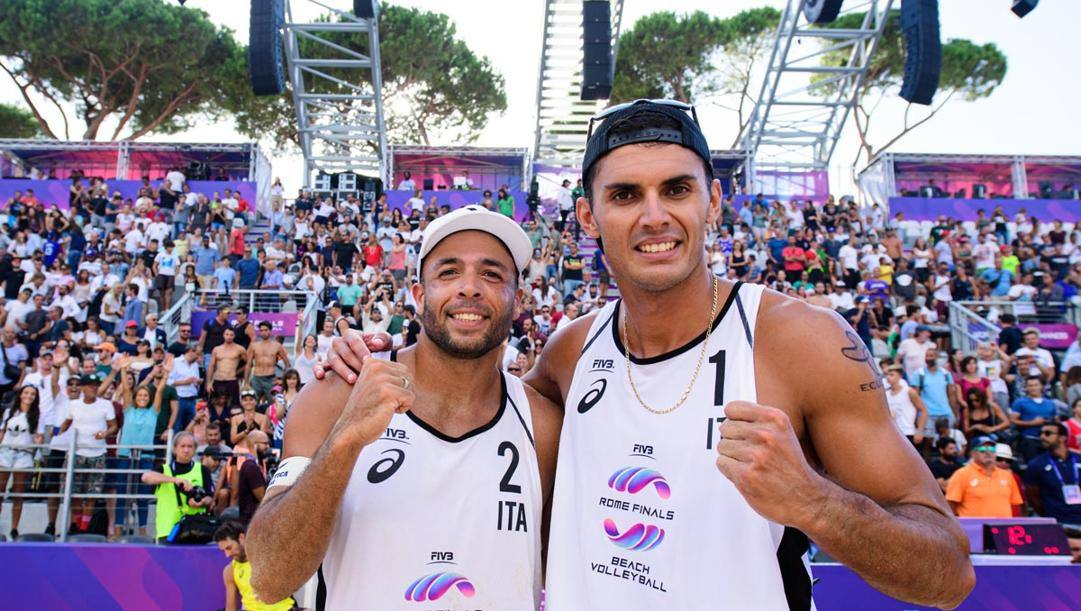 Adrian Carambula ed Enrico Rossi