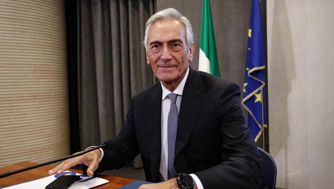 Gabriele Gravina. Ansa