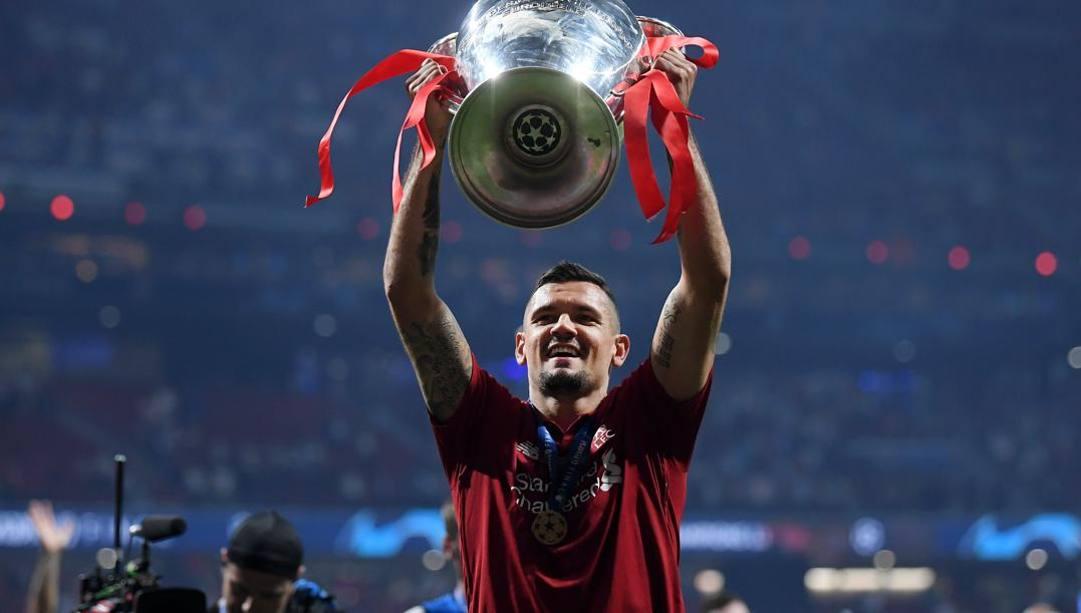 Dejan Lovren, 30 anni, difensore croato del Liverpool campione d'Europa 2019. Getty