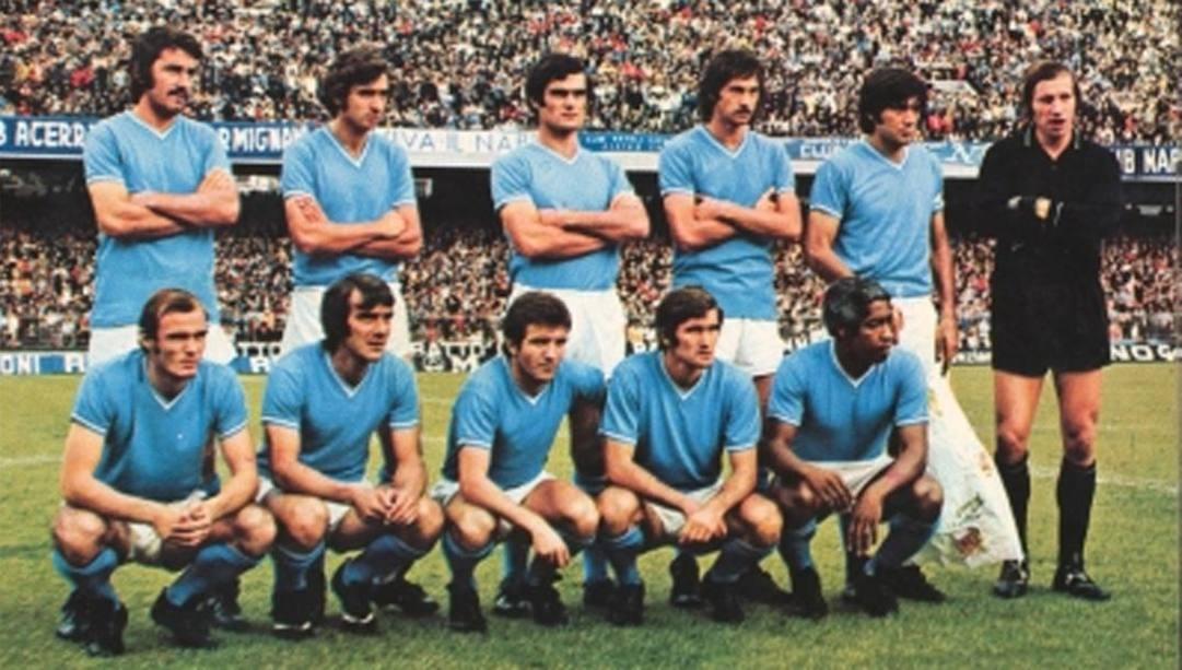 Il Napoli del 1973. (da Facebook)
