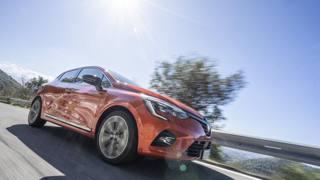 Renault Clio, la prova