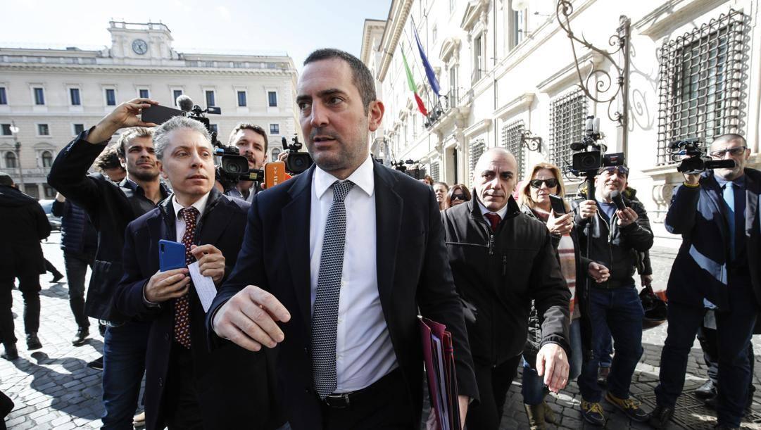 Il ministro dello Sport Vincenzo Spadafora, 46 anni. Ansa