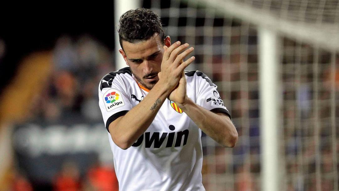 Alessandro Florenzi con la maglia del Valencia. (Epa)