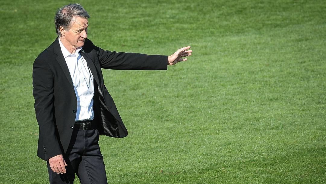 L'allenator del Pordenone Attilio Tesser, 61 anni. (lapresse)
